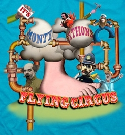 Image for Monty Pythons Flying Circus t-shirt category