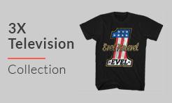 3X Television T-Shirts