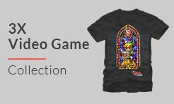 3X Video Games T-Shirts