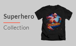 DC Comic Superhero tshirt