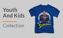 DC Comic Youth and Kids t-shirt