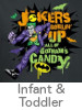 Thumbnail for the DC Rogues Infant and Toddler T-Shirt Category