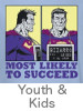 Thumbnail for the DC Rogues Youth and Kids T-Shirt Category