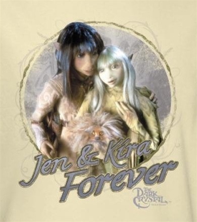 Banner image from the Dark Crystal Girls t-shirt category