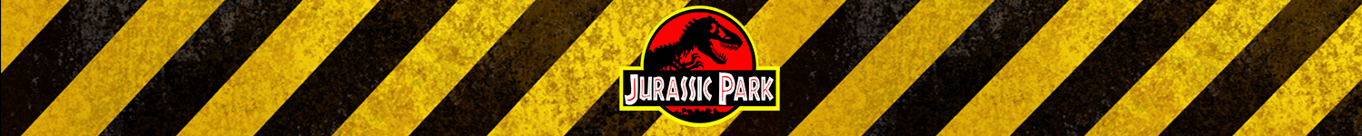 Banner for the Jurassic Park t-shirt category