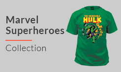 Marvel Superheroes shirts
