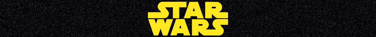 Banner for Star Wars t-shirts
