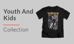 Wonder Woman Youth and Kids T-Shirt